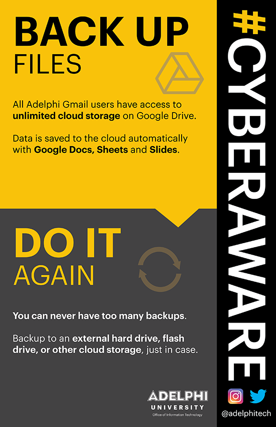 Cyber Awareness Campaign - File Back Ups