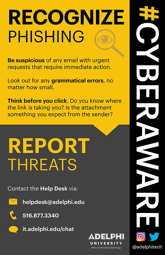 Cyber Awareness Campaign - Phishing